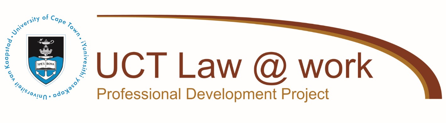 UCT Law Work Goes Online Short Courses At Your Desktop