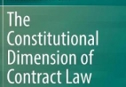 Cover of Constitutional Dimension of Contract Law